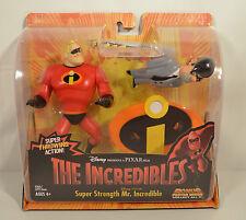 NEW 2003 Mr Incredible & Gilbert Humph Hasbro Action Figure Disney Incredibles