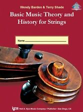 Basic Music Theory and History for Strings-Workbook 1-ANSWER KEY-NEW ON SALE!!