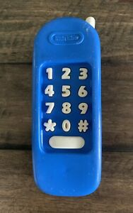Little Tikes BLUE PHONE Pretend Toy Replacement VTG Playhouse Kitchen Work Bench