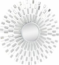 Spiegel Home Affaire Ø ca. 103,5 cm Rahmen silber  888070