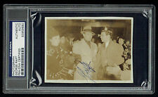 George Raft signed autograph 3x4 Vintage 1940's Snapshot Photo PSA Slabbed