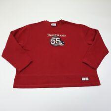 Disneyland XL Red Mickey Mouse Sweatshirt Sweater