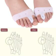 2Stk Silikon Gel Toe Straightener Separator Bunion Corrector-Schmerzlinderung.DE