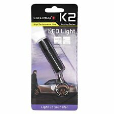 LED Lenser K2 Keyring Lightring LED Light Torch for Outdoors, Indoors, Camping