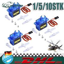 Micro SG90 Servo Motor 9G für RC Hubschrauber Flugzeug Arduino Control mini 360