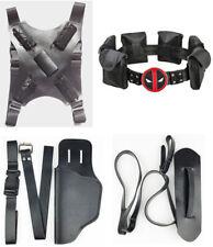 X-Men Deadpool Back Holder Strap Belt Pocket Holster Gun Bag Cosplay Halloween