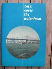 Let's Cover the Waterfront Circle Line Booklet New York 1965 WTC Yankee Stadium