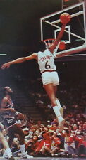 "110 Julius Erving - Dr. J NBA Basketball MVP Stars 14""x26"" Poster"