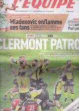L'EQUIPE 5 juin 2017 ASM Clermont-Ferrand champion de France Top 14 rugby