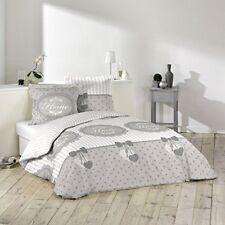Douceur D'intérieur Romantic Home Parure 3 pieces 240 x 220 cm Imprime 42 Fil...