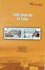 Chile 2011 Brochure - El Tabo Centennary - no stamp