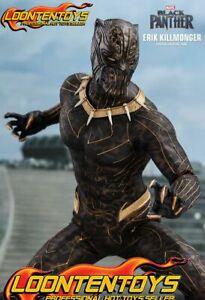 Hot Toys 1/6 MMS471 – Black Panther – Erik Killmonger IN STOCK
