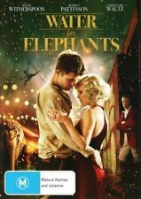 WATER For ELEPHANTS DVD BRAND NEW TOP FILM Robert Pattinson Reese Witherspoon R4