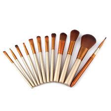12Pcs Makeup Brush Set NK Gold Portable Beauty Tool Blush Eye Shadow Tool