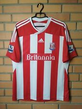 Stoke 2011 - 2012 football shirt Home  soccer jersey size L Adidas