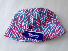 BERGHAUS KIDS REVESABLE BUCKET HAT PINK ,SIZE L/XL WILL POST WORLDWIDE
