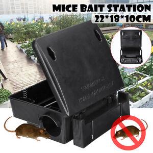 Rat Mice Mouse Rodent Poison Boxes Pest Control Bait Station Box Trap Key  |