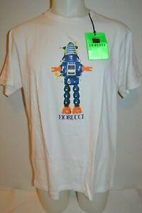 FIORUCCI Man's ROBOT Premium T-shirt NEW Size X-Large Retail $125