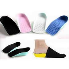 1 Pair Secret Height Increase Lifts Half Taller In Sock Shoes Pads Heel Insoles