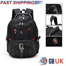 "15.6"" Laptop Backpack Notebook Rucksack Outdoor Hiking Leisure Travel School Bag"