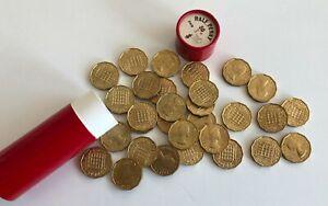30 x 1967 3d Threepence Brass Queen Elizabeth II UNCIRCULATED? UNC Job Lot Bulk