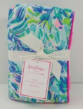 Pottery Barn Lilly Pulitzer Pineapple Party Patchwork Sham Multi #8185