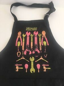 """""""Specialized Technical Support"""" Bicycle Shop Apron. Used, Vintage"""