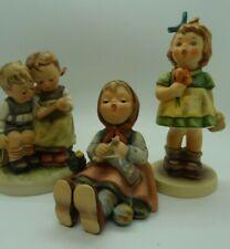 Vintage Hummel Goebel Lot Surprise Smart Little Sister Figurines Happy Pastime