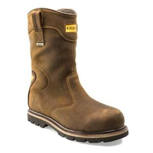 Buckler B701 Crazy Horse Leather Goodyear Welted Waterproof Safety Rigger Boot