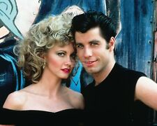 "JOHN TRAVOLTA AND OLIVIA NEWTON-JOHN IN THE FILM ""GREASE"" - 8X10 PHOTO (FB-608)"