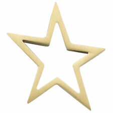 Anhänger Stern 585 Gold Gelbgold matt Goldanhänger Sternanhänger