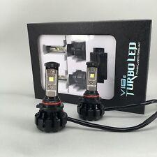 V18 Turbo 80W & 9600Lm/Set LED Headlight Kit, Bulb 9005/HB3 - Cool White 6000K