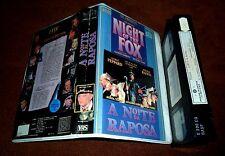 1990 Night of the Fox VHS PAL 1st ED Portugal *RARE* OOP NoDVD WW2 Michael York