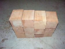 12  CHERRY BOTTLE STOPPER BLANKS LATHE WOOD BLOCKS LUMBER