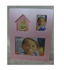 Newborn Baby Photo Album Baby Shower Christening gift Metallic Pink