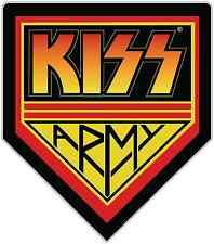"Kiss Band Army Rock Music Car Bumper Window Sticker Decal 4""X5"""