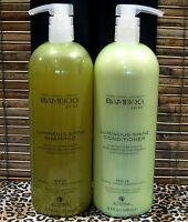 Alterna Bamboo Luminous Shine Shampoo and Conditioner 33.8 oz Liter Duo Set PACK