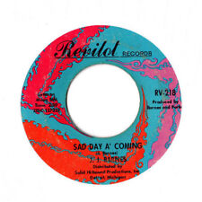 J.J. Barnes~Sad Day A' Coming Northern Soul 45 Revilot Hear!!