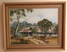 """Reg Trebilco, """"Koongamon"""", Original Oil, Signed, 49 cm X 39 cm Framed"""