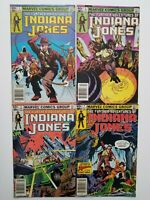 Further Adventures of Indiana Jones Lot of 4 books 1, 2, 3 & 7 VF Marvel 1983