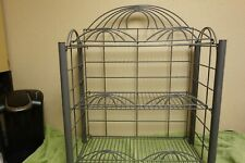 3 tier wire counter shelf display