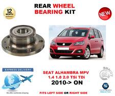 Para Seat Alhambra Trasero Kit Rodamiento Rueda 2010- > en MPV Izquierdo o Lado