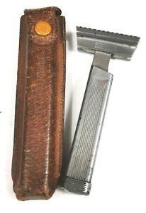 Rare unusual antique 1920s schick repeating injector b1 safety Razor