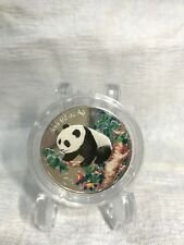 1998 5Y COLORIZED PANDA 1/2 OZ SILVER PROOF