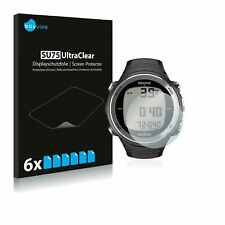 Suunto D4F  Watch , 6 x Transparent ULTRA Clear Screen Protector