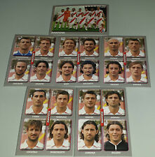 FIGURINE CALCIATORI PANINI 2008-09 SQUADRA MANTOVA CALCIO FOOTBALL ALBUM