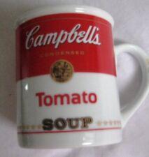 Campbell's Tomato Soup Ceramic Mug Collectible 8 Oz Condensed 125th Anniversary