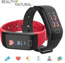 Fitness Smartwatch Armband Uhr Bluetooth Schrittzähler Schlaftracker Pulsuhr