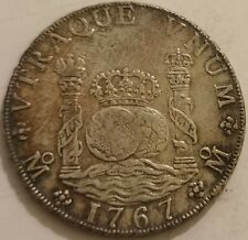 ✠ Scarce ✠ Toned & Lustrous ✠ 8 Reales 1767 Mexico M.F. ✠ KM 105 ✠ 26.82 g ✠