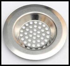 Kitchen/Bathroom Basin Shower Sink Strainer Bath Plug Hole Bath Waste Filter